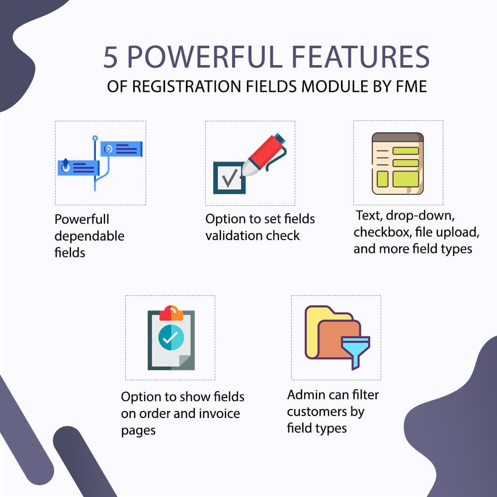 module - Cadastro e Processo de Pedido - Custom Registration Fields - Registration Validation - 2