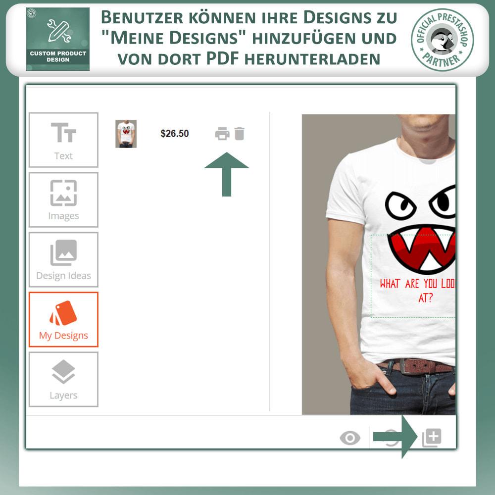 module - Bundels & Personalisierung - Benutzerdefinierter Produktdesigner, Produktanpassung - 6