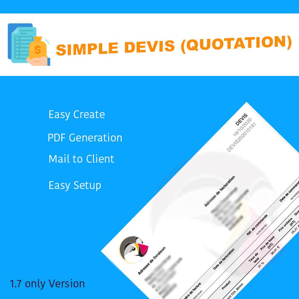 module - Quotes - Simple Devis - 5