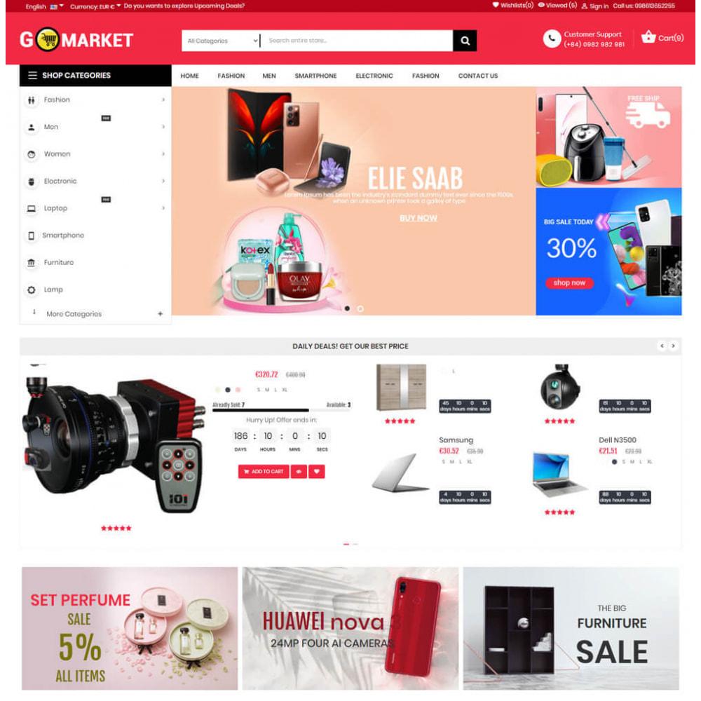 theme - Elektronika & High Tech - Supermarket & Mobile App Layout - 2