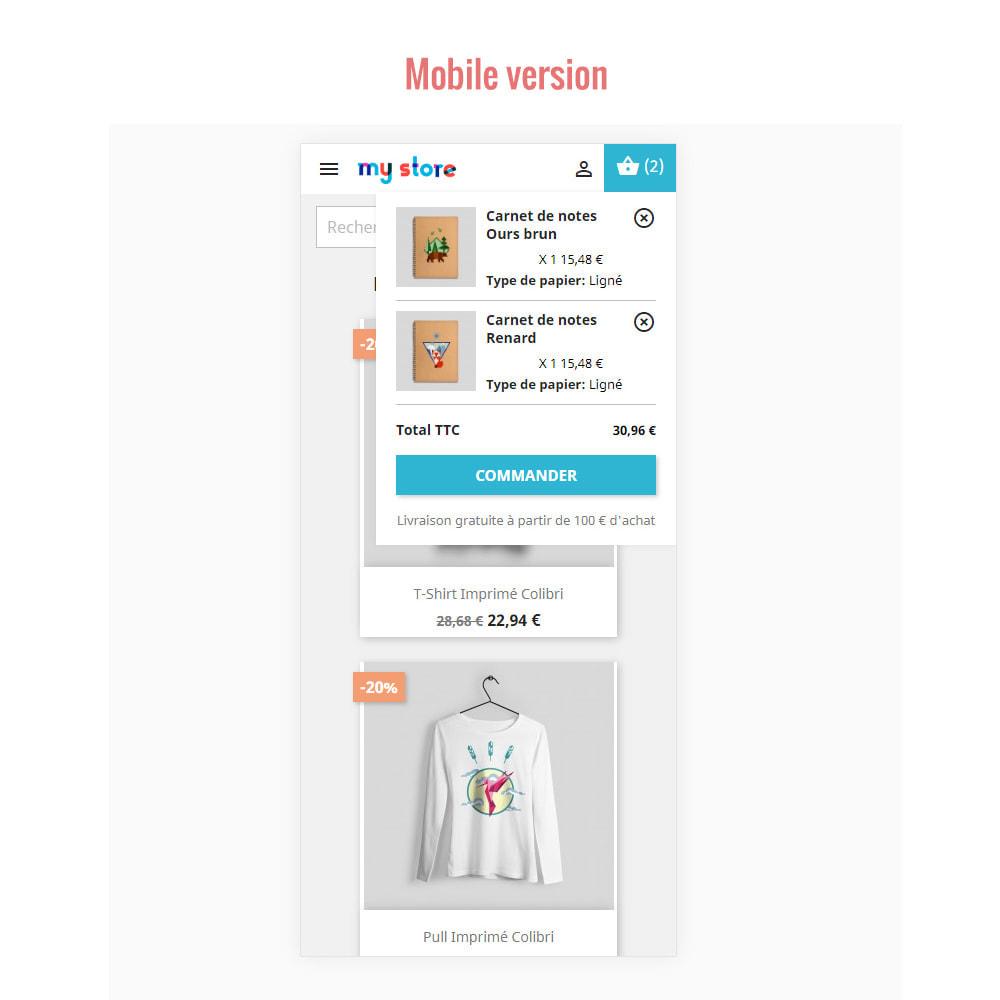 module - Personnalisation de Page - Panier d'achat Ajax ( Mini-Panier ) - 3