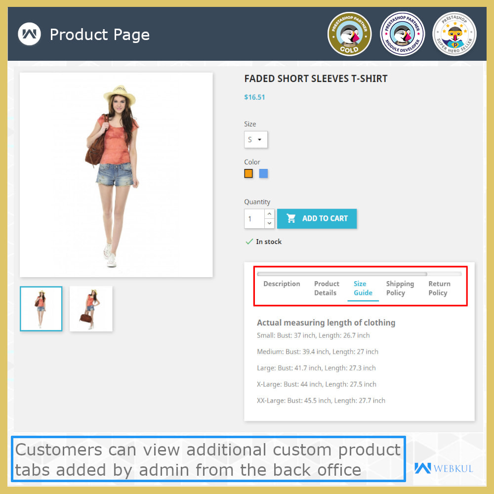 module - Additional Information & Product Tab - Product Page Additional Custom Tabs - 3