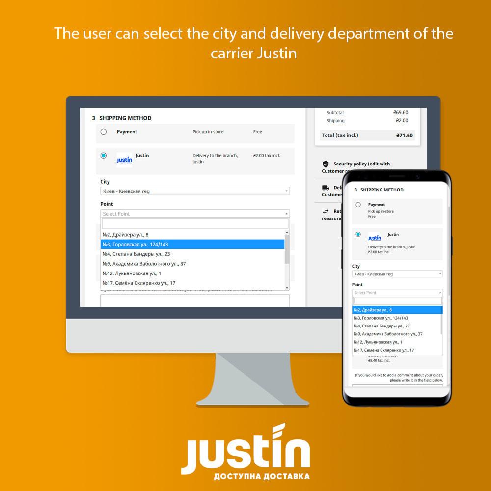 module - Date de livraison - Justin Delivery - 1