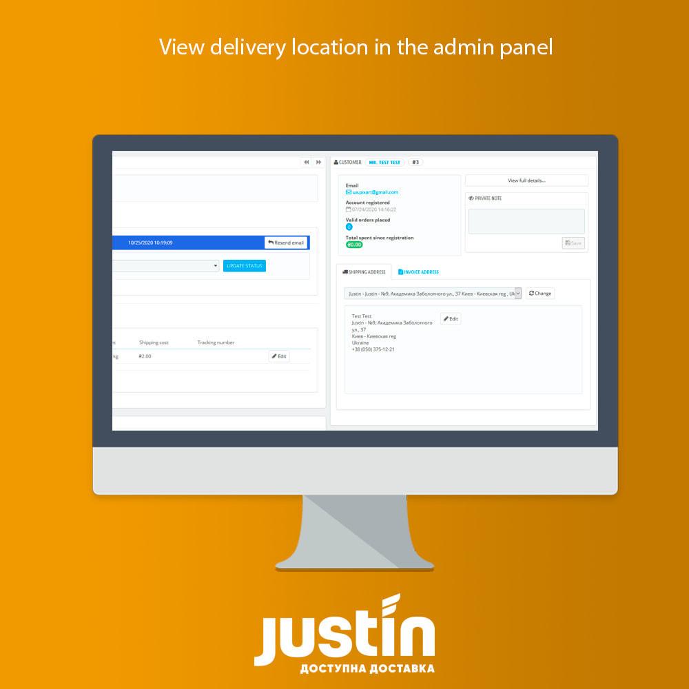 module - Leverdatum - Justin Delivery - 3