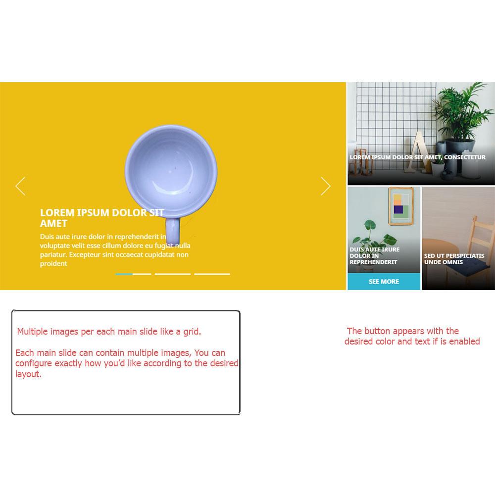 module - Sliders & Galeries - Slider avec plusieurs images par chaque diapositive - 1