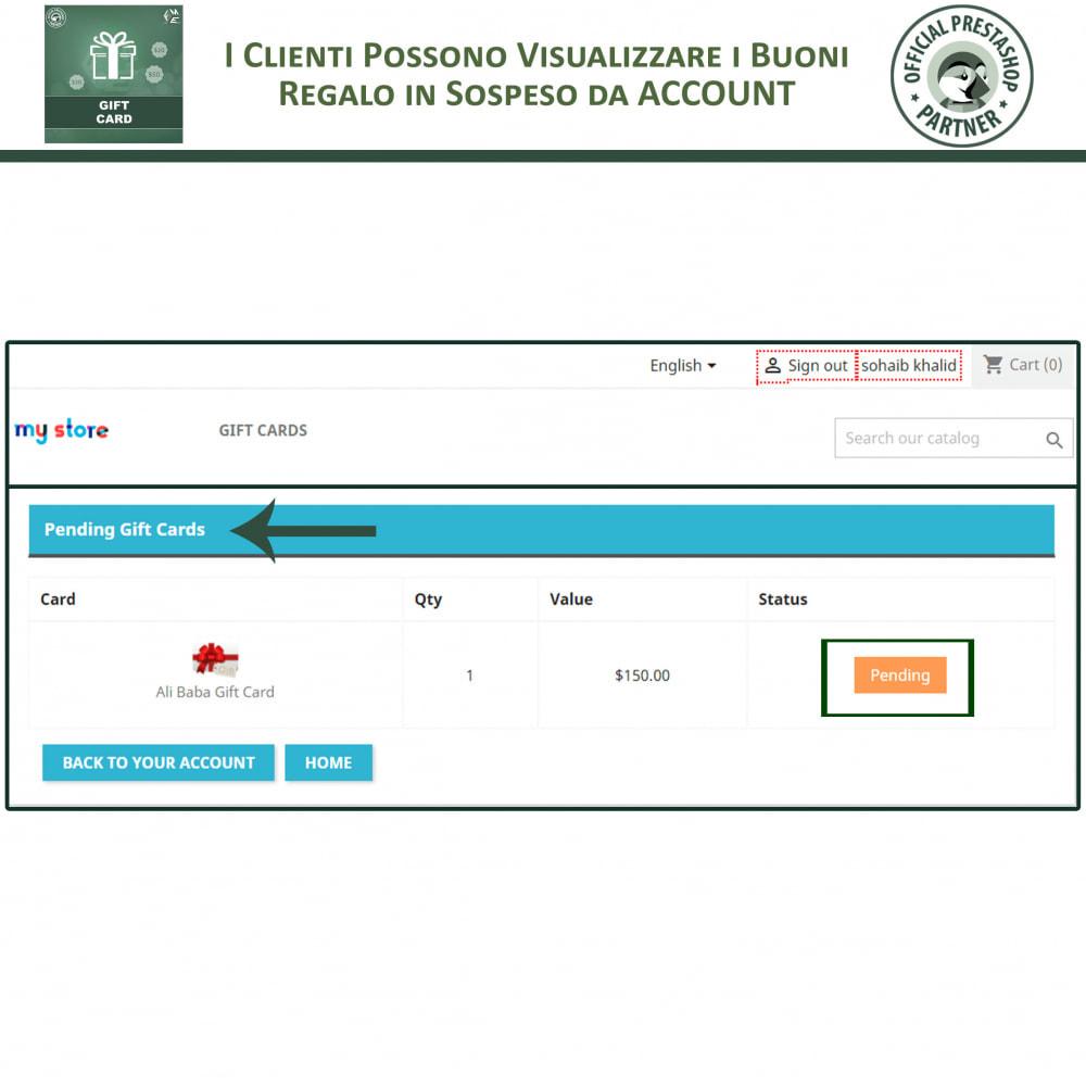 module - Whishlist & Gift Card - Carta Regalo - 7