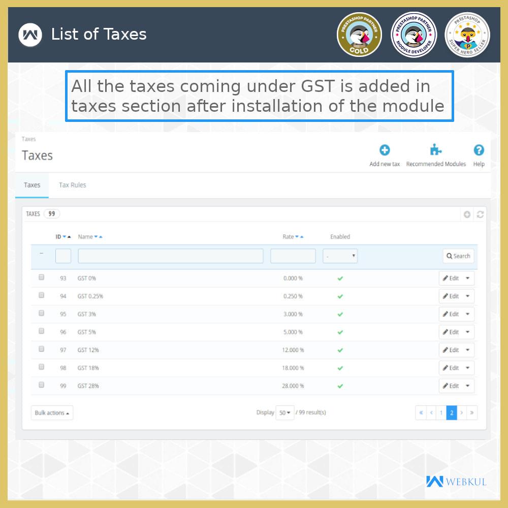 module - Buchhaltung & Rechnung - GST - Returns and Invoices - 7