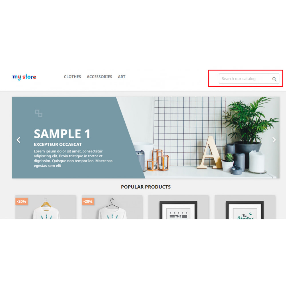 module - Поиск и фильтры - MonoCat - Dynamic Search Placeholder PRO - 8