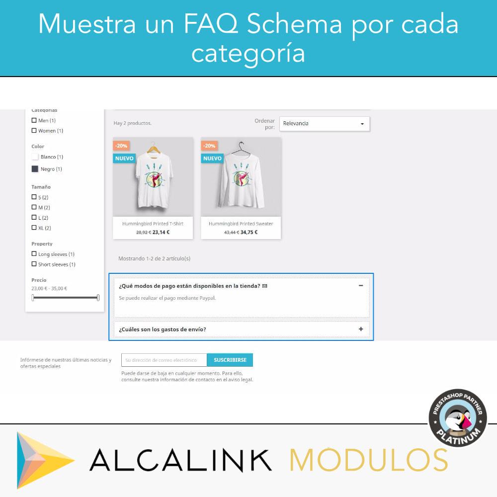 module - Preguntas Frecuentes - FAQ Schema en categorías - Especial SEO en Google - 2