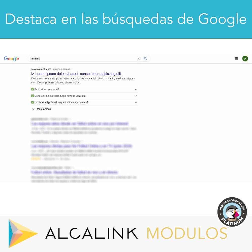 module - Preguntas Frecuentes - FAQ Schema en categorías - Especial SEO en Google - 3