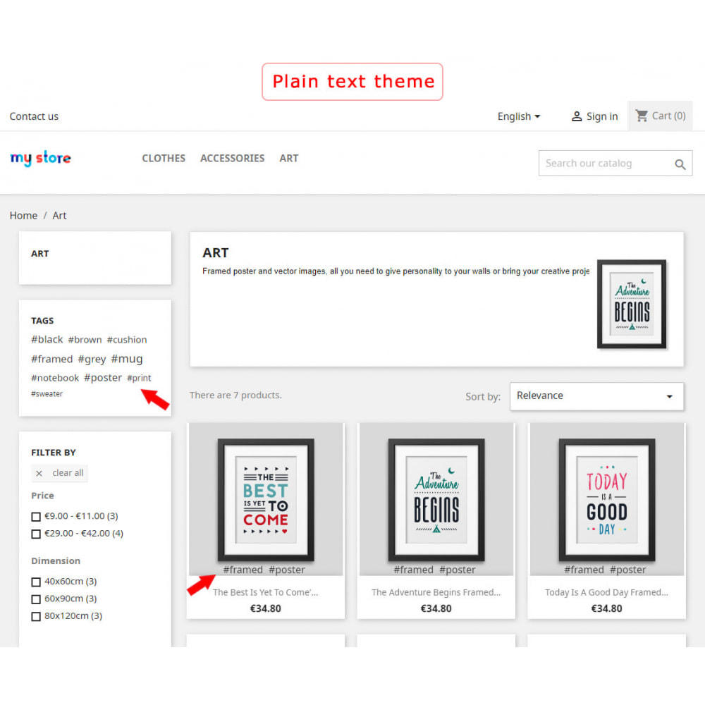 module - Odznaki & Logo - Better block of tags - 2