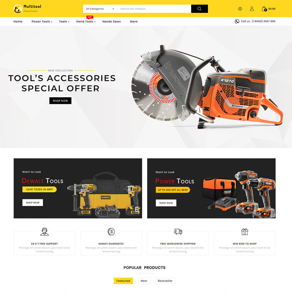 theme - Auto's & Motoren - Multitool - Mega Power Tool Store - 2