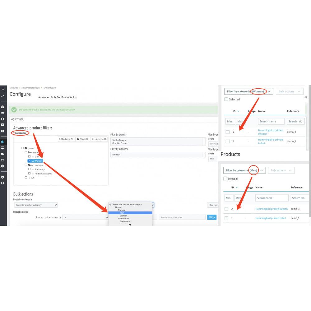 module - Fast & Mass Update - Advanced Bulk/Mass Set Product(Category,Price) Pro - 3