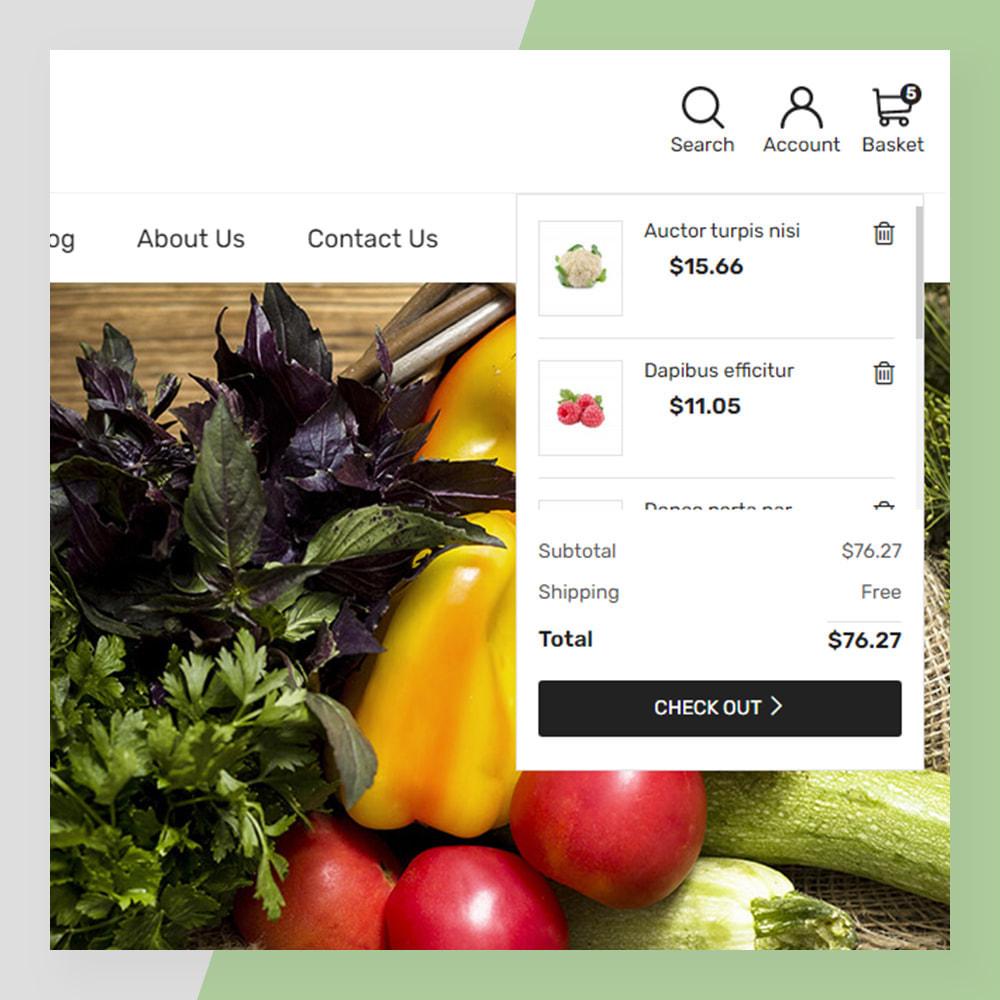 theme - Żywność & Restauracje - Veggie - fresh Organic Food Store - 4
