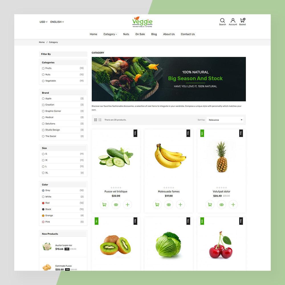 theme - Żywność & Restauracje - Veggie - fresh Organic Food Store - 6
