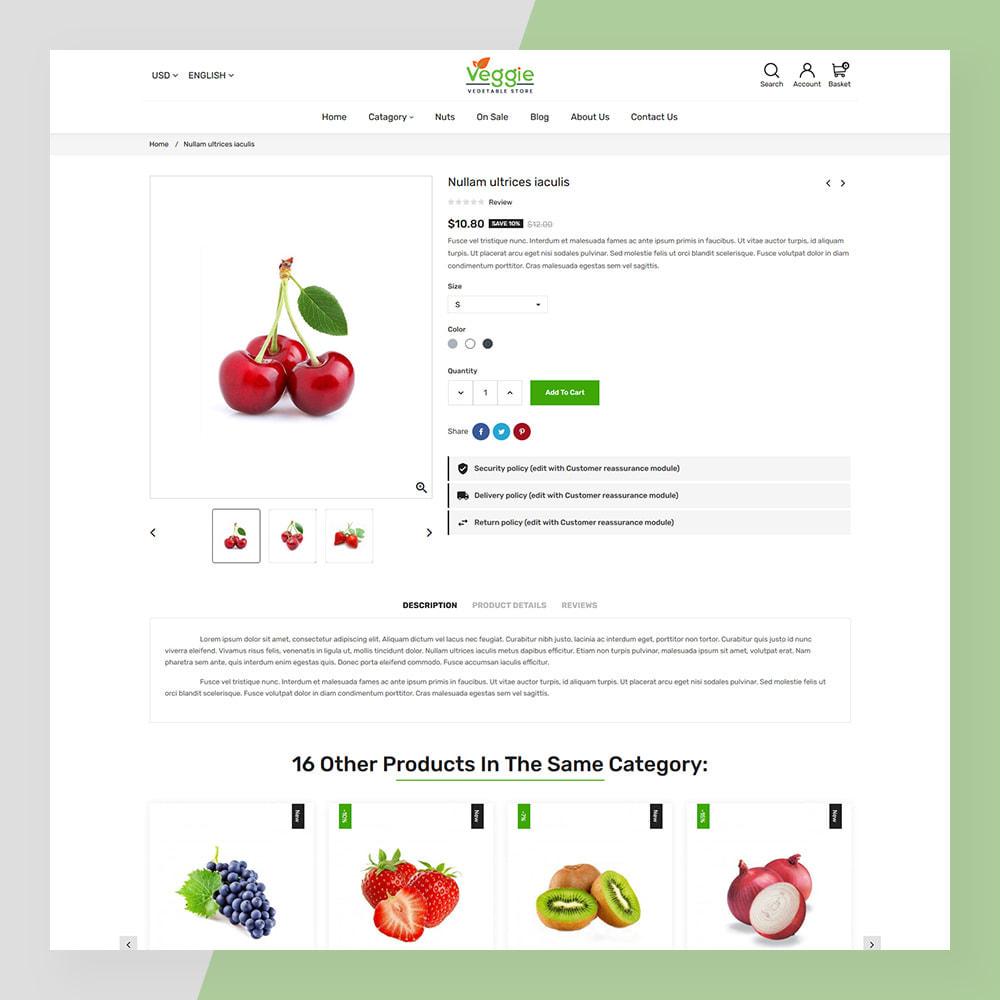 theme - Żywność & Restauracje - Veggie - fresh Organic Food Store - 7