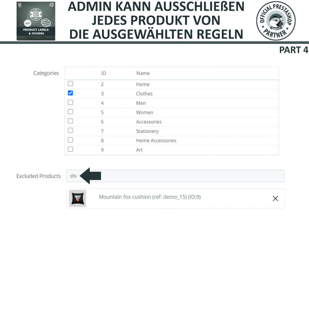 module - Badges & Logos - Produktaufkleber und Aufkleber - 16