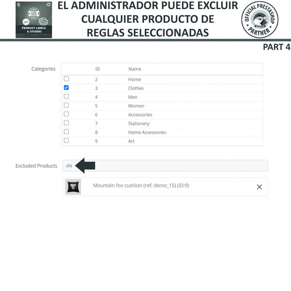 module - Etiquetas y Logos - Etiquetas y pegatinas del producto - 16