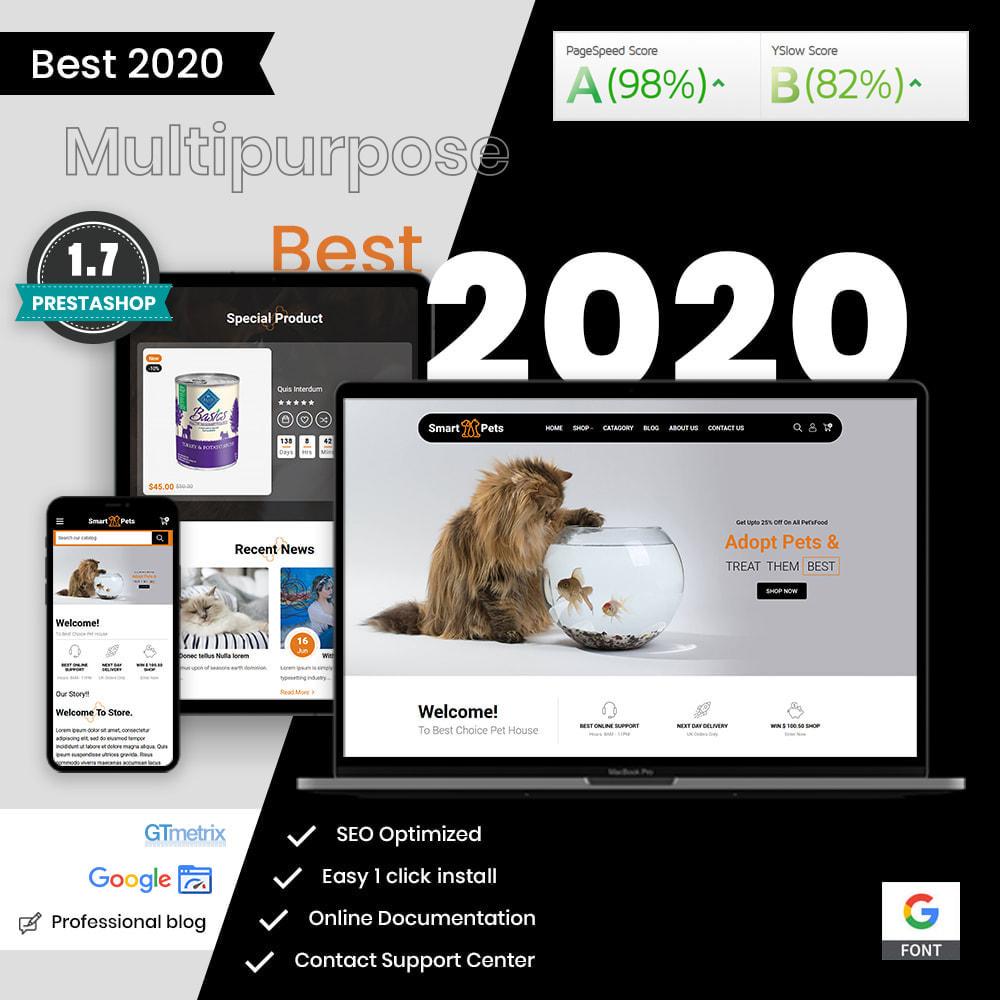 theme - Animais - Smart Pets - Minimal Pet Store - 1