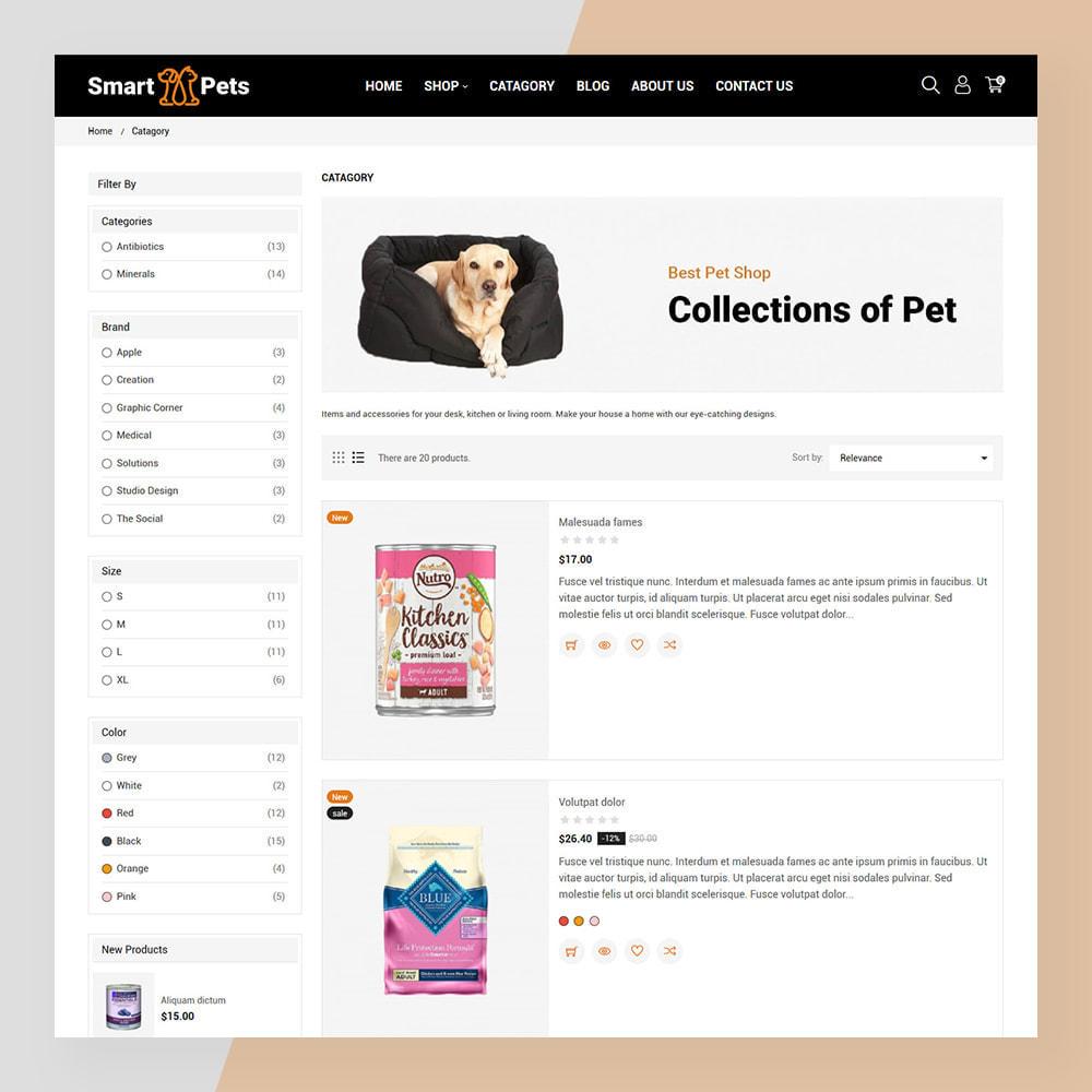 theme - Animais - Smart Pets - Minimal Pet Store - 5