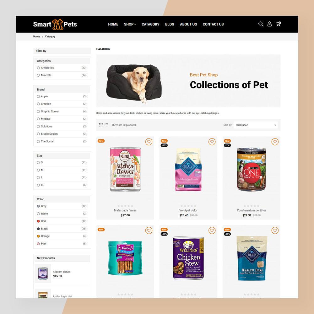 theme - Animais - Smart Pets - Minimal Pet Store - 6