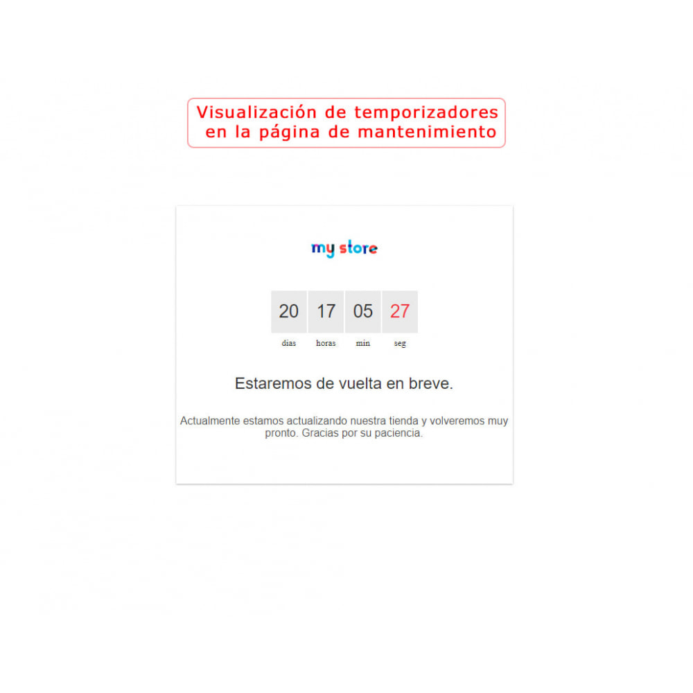 module - Ventas Privadas y Ventas Flash - Banner con la cuenta regresiva PRO - 7