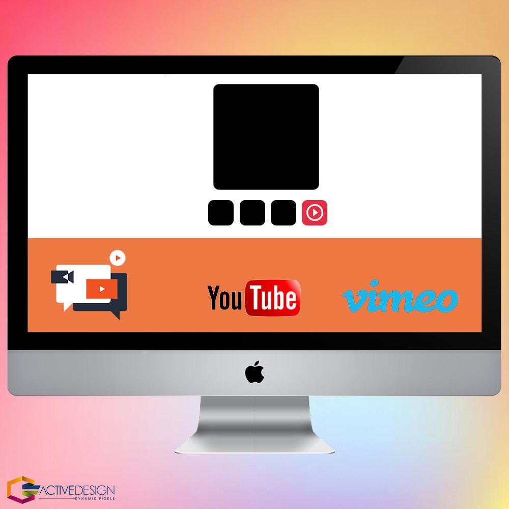 module - Vídeos y Música - Product Videos PRO - Youtube, Vimeo and Custom Video - 1