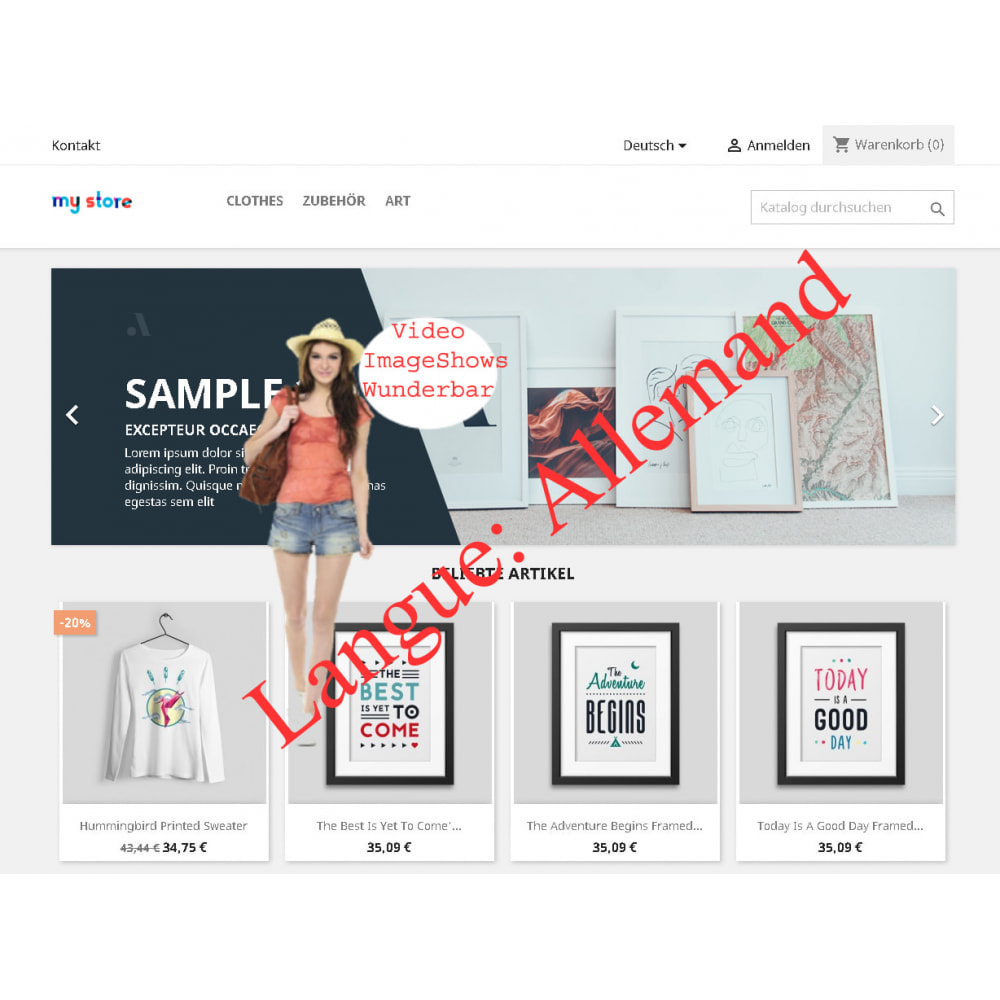 module - Promotions & Cadeaux - Exposition d'images et de vidéos - 3