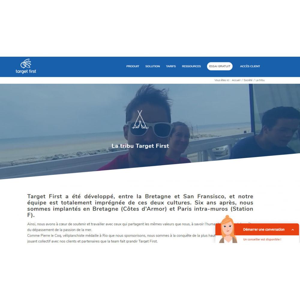 module - Wsparcie & Czat online - Target First - 2