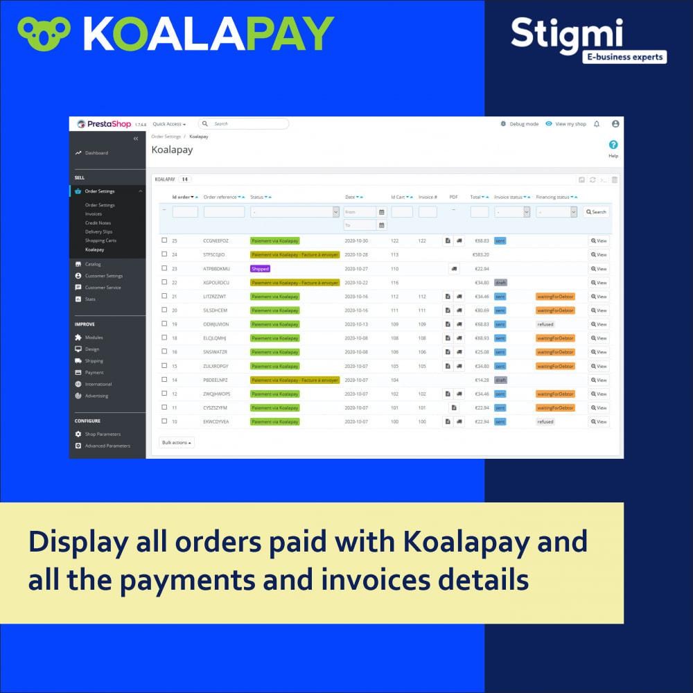 module - Betaling per Factuur - KoalaPay – 30-day B2B payment & invoice factoring - 2