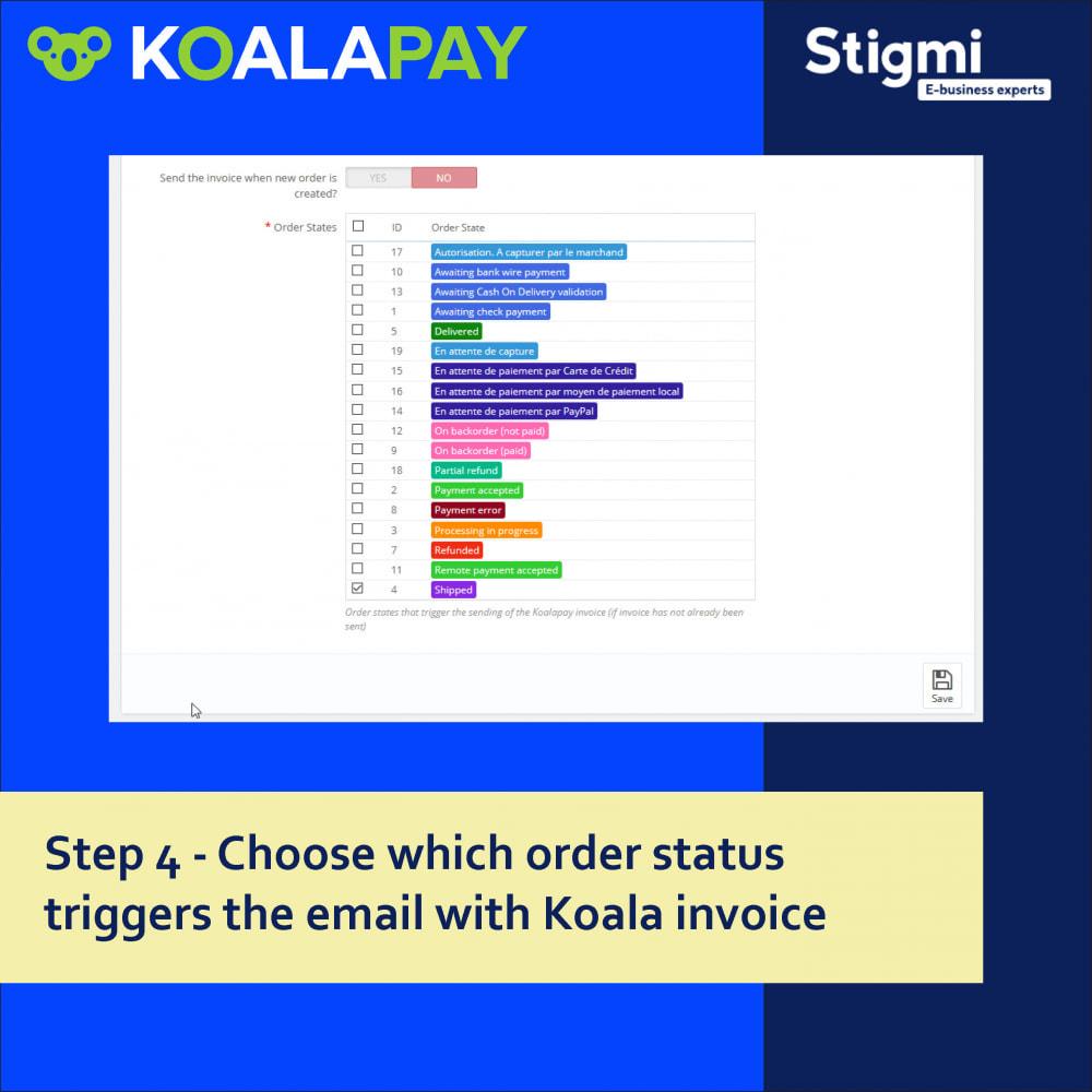 module - Betaling per Factuur - KoalaPay – 30-day B2B payment & invoice factoring - 6