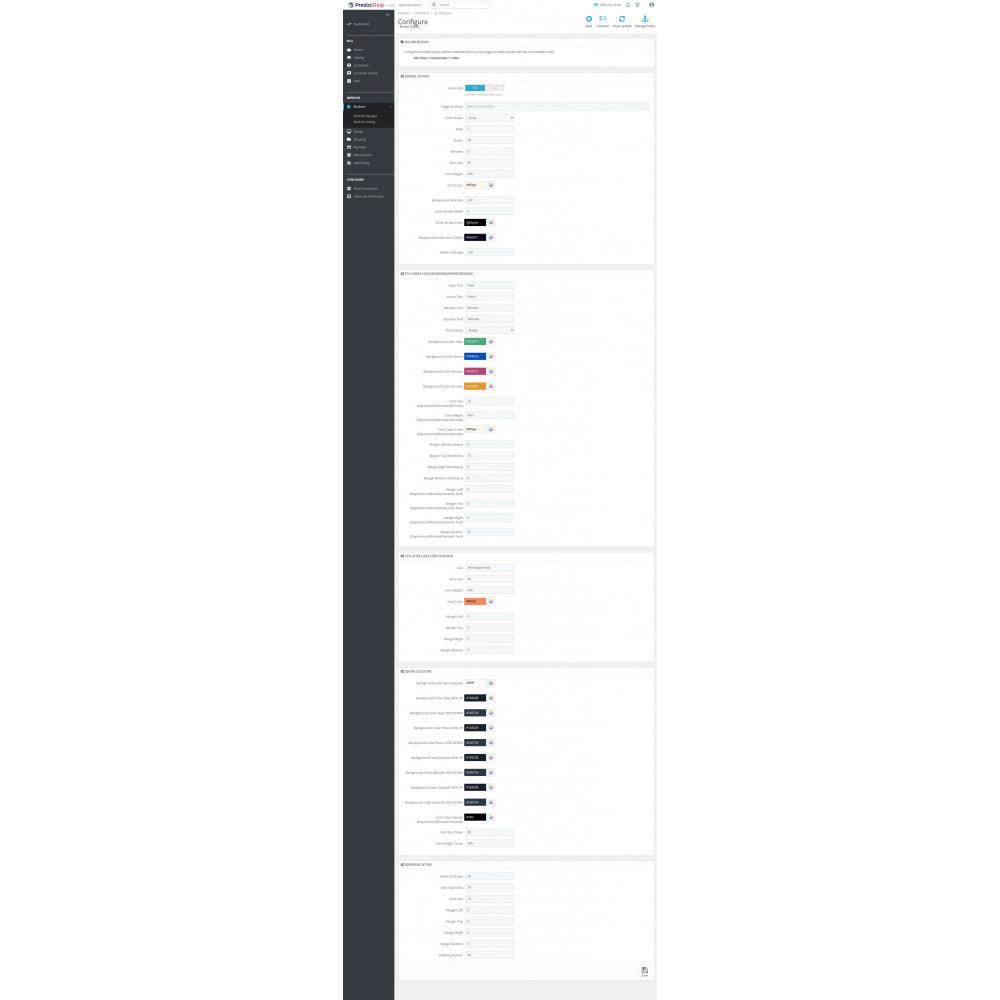module - Адаптация страницы - Timer Clock - 6