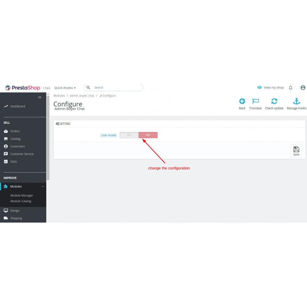 module - Поддержка и онлайн-чат - Admin Buyer Chat - 3