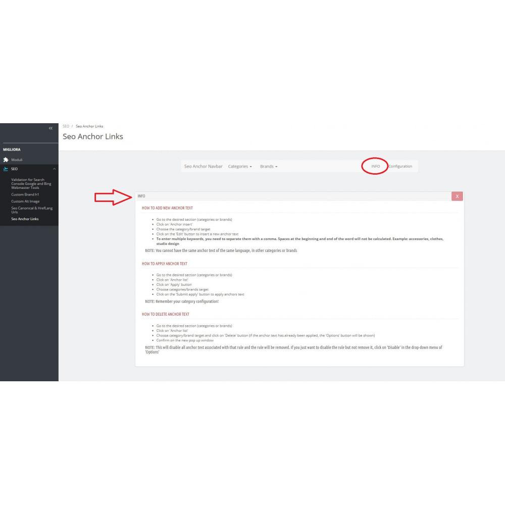 module - SEO (Indicizzazione naturale) - Inserimento automatico di link interni SEO - 3