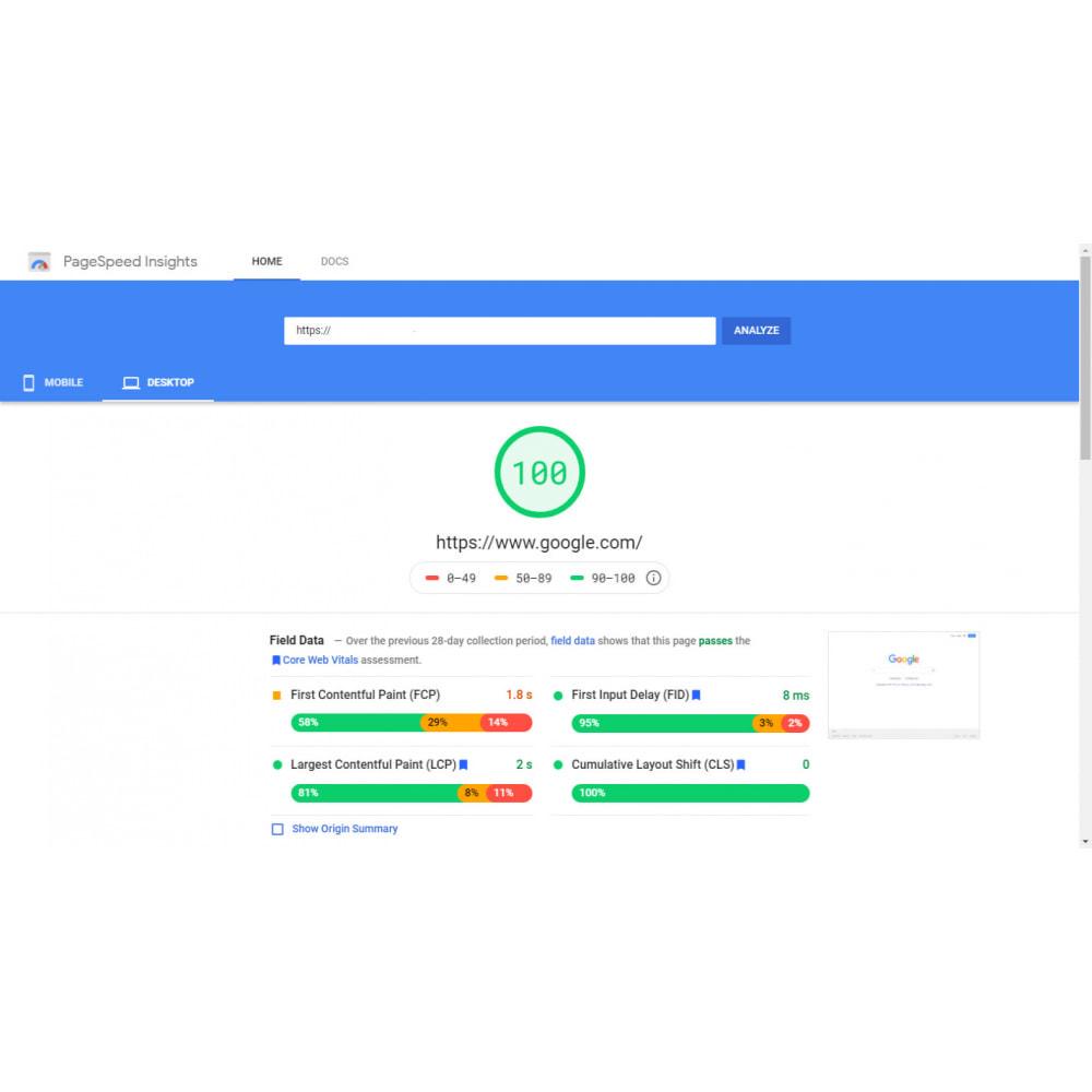 module - Desempenho do Site - GTmetrix Pro  - Speed optimization - 4