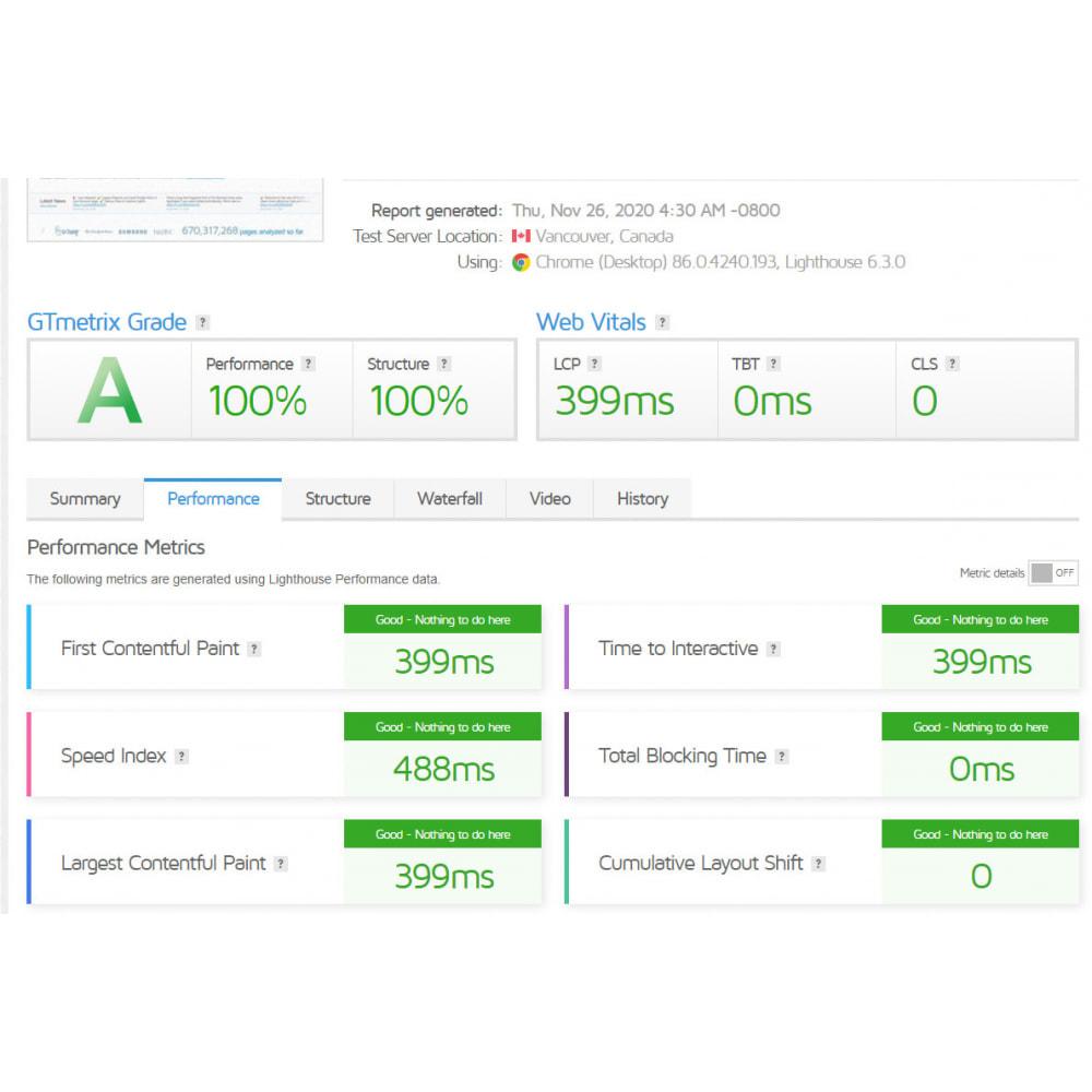 module - Desempenho do Site - GTmetrix Pro  - Speed optimization - 3