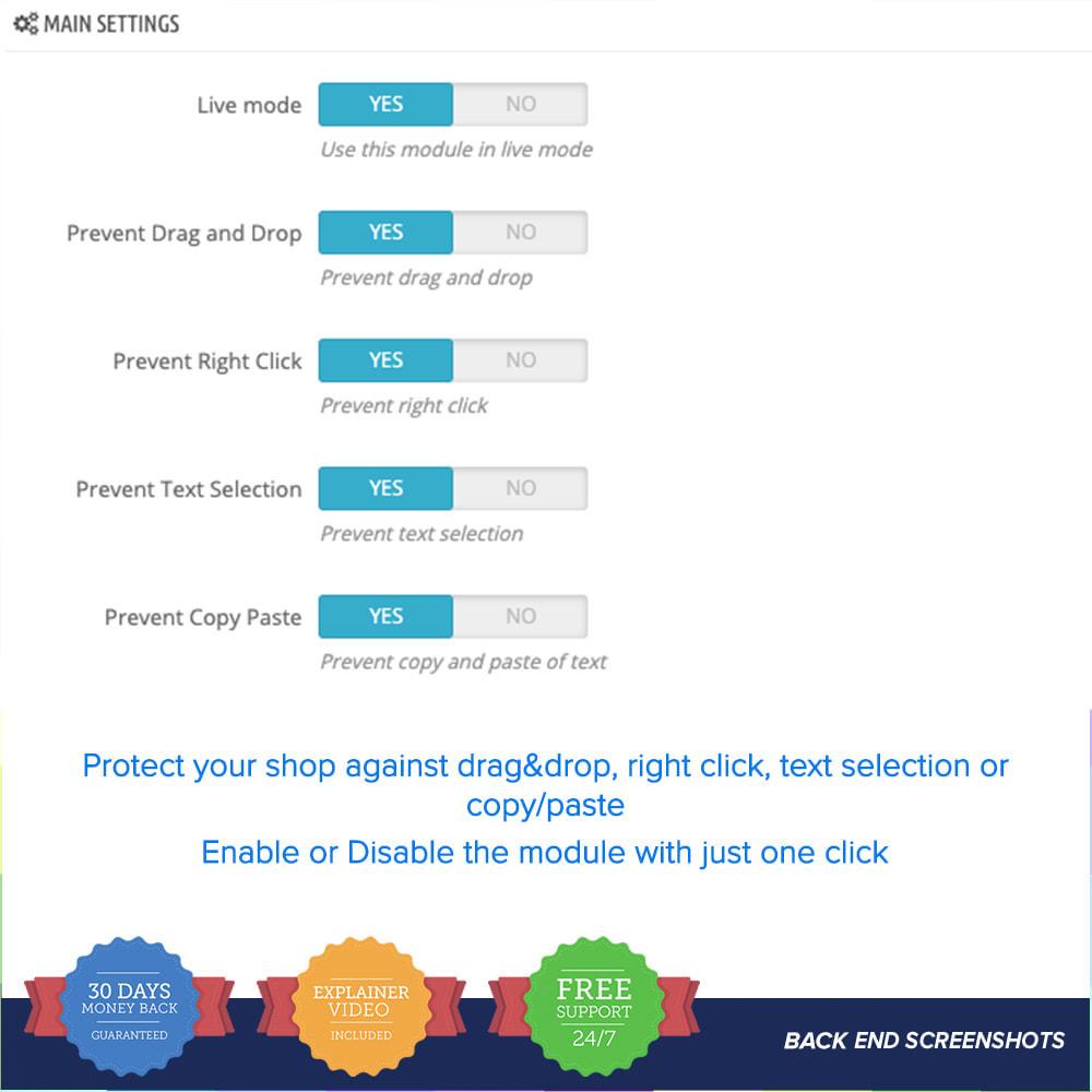 module - Seguridad y Accesos - Proteger el contenido PRO - 3