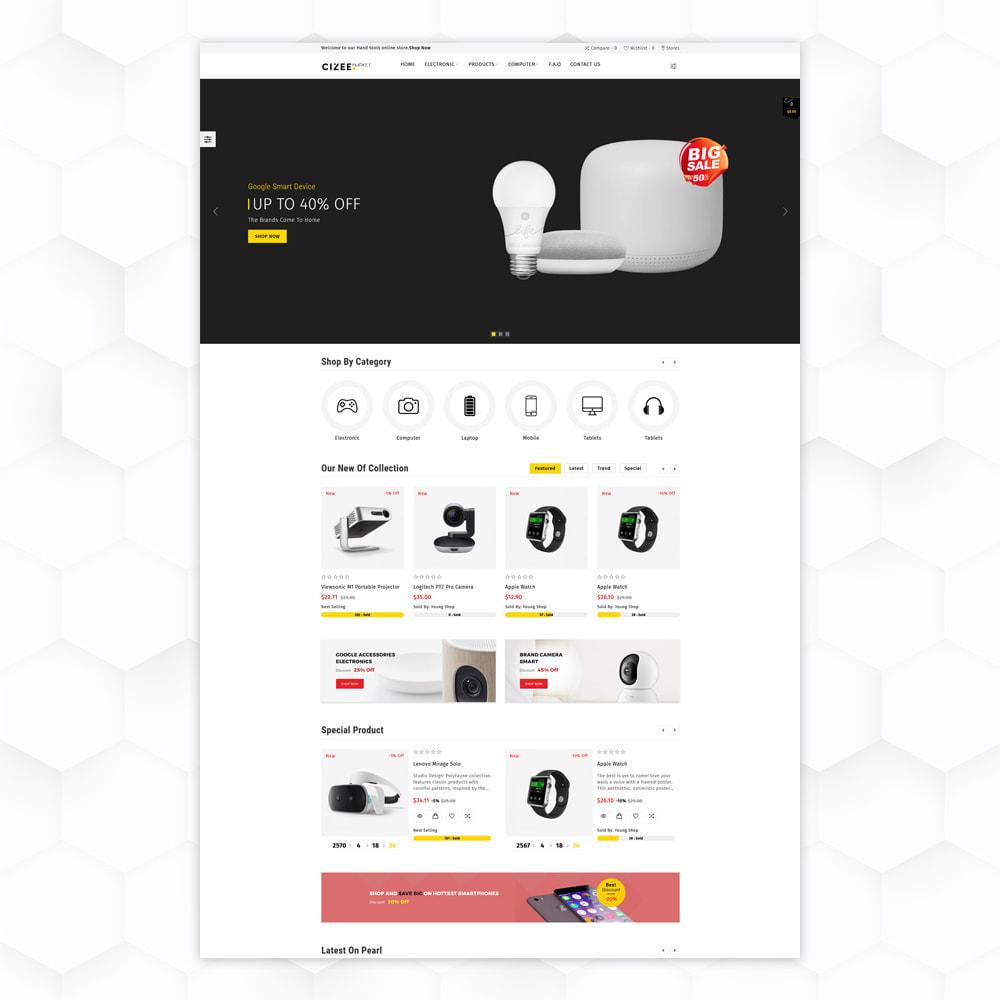 theme - Electronique & High Tech - Clzee Market Store - 2
