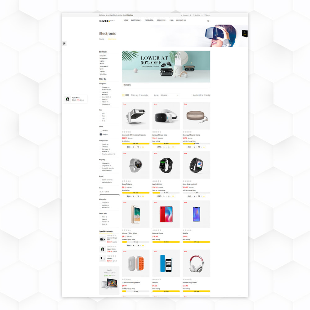 theme - Electronique & High Tech - Clzee Market Store - 3