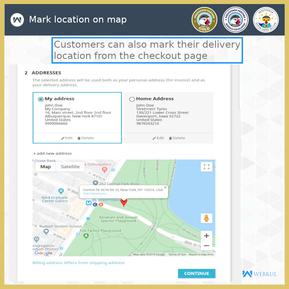 module - Lingue & Traduzioni - Set Your Delivery Location | Tracking Made Easy - 4