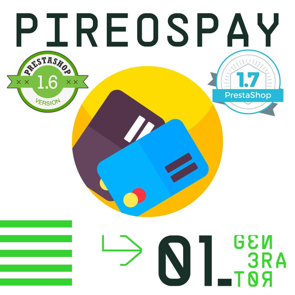 module - Оплата банковской картой или с помощью электронного кошелька - PireosPay - 1