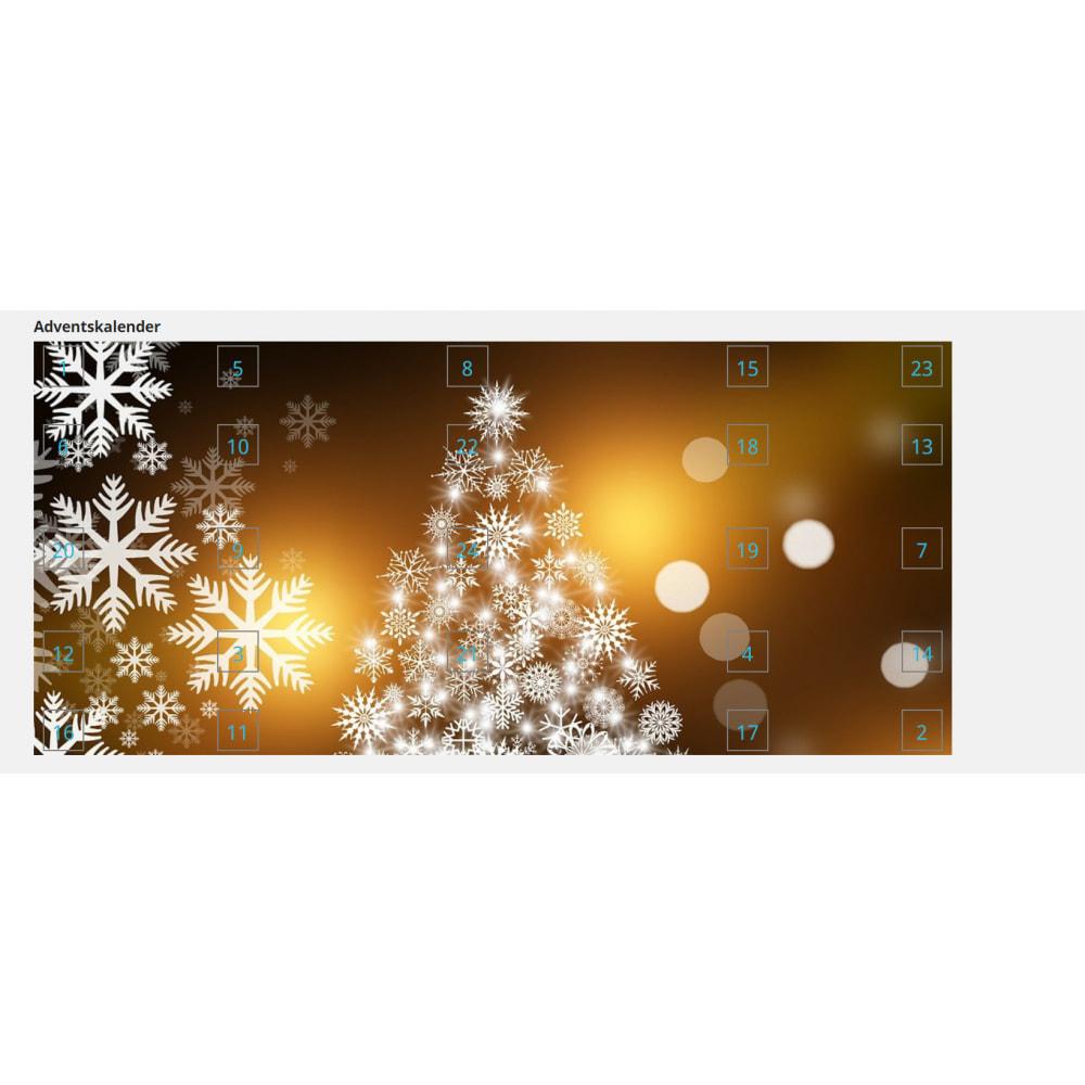 module - Personalização de página - Advent Calendar / Christmas Calendar / Santa Calendar - 6