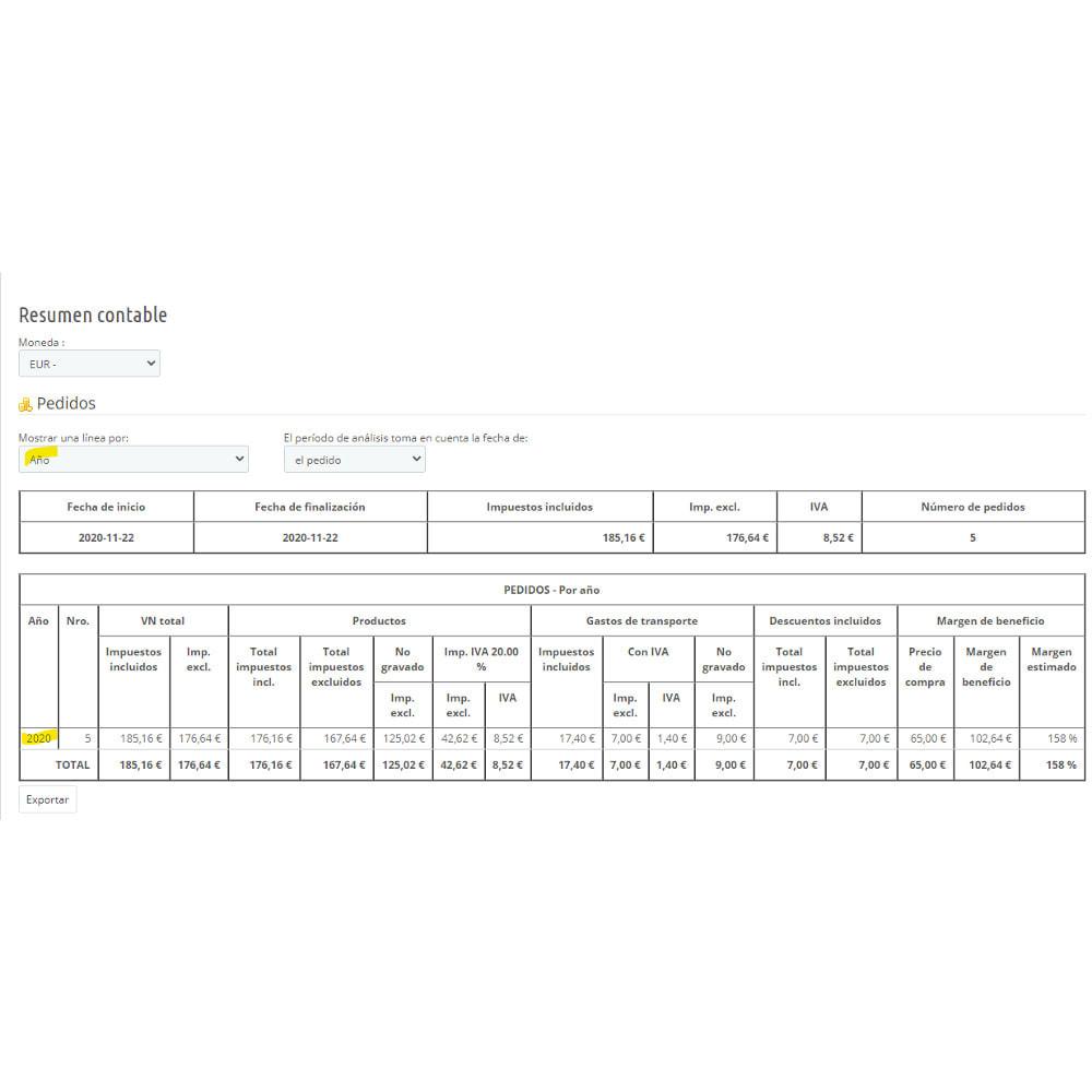 module - Contabilidad y Facturas - Síntesis contable para declaración de IVA - 3