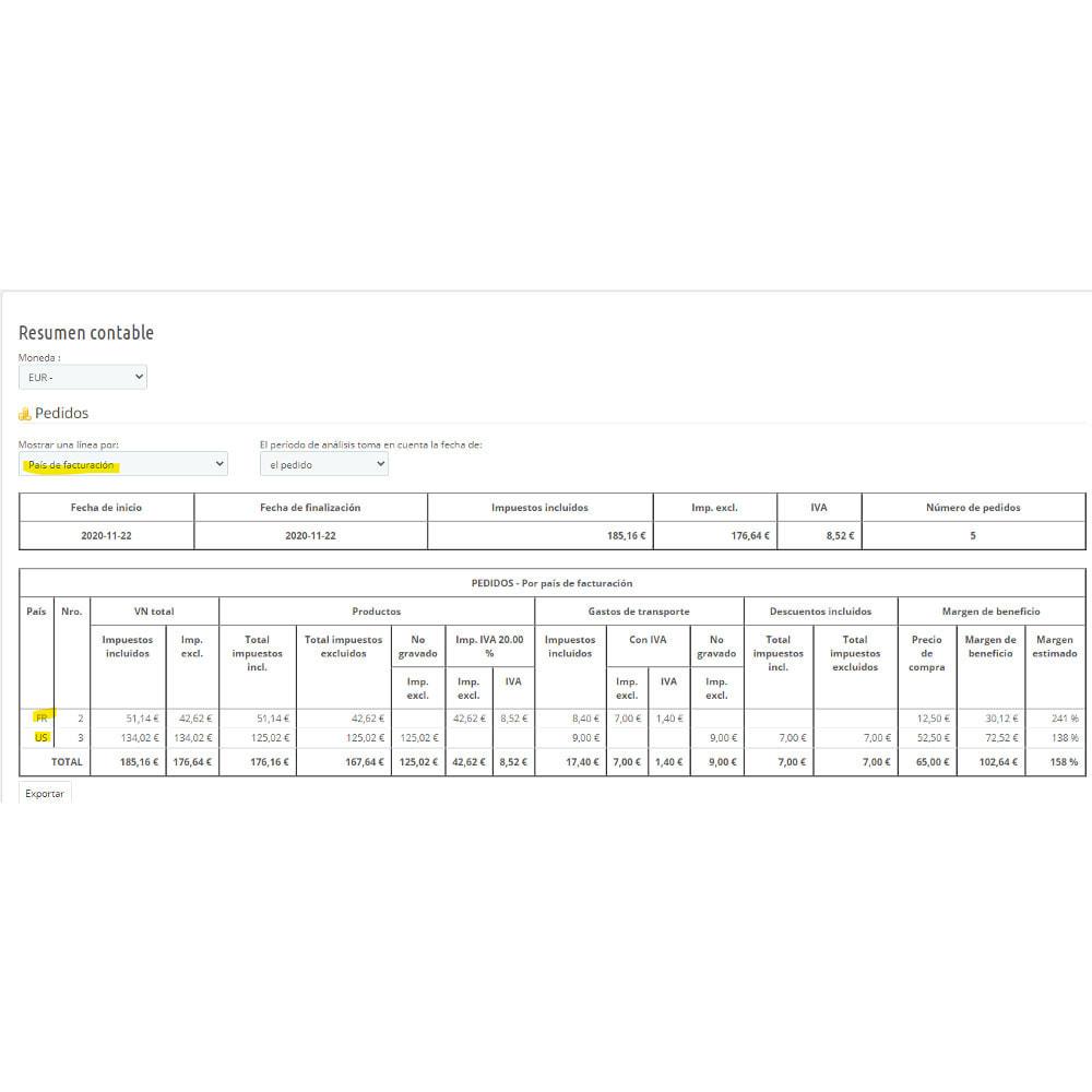 module - Contabilidad y Facturas - Síntesis contable para declaración de IVA - 8