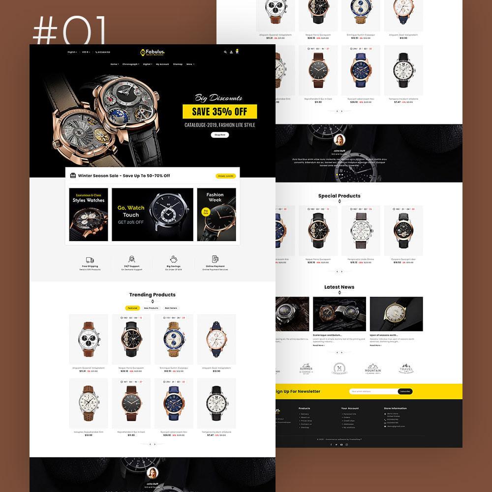 theme - Fashion & Shoes - Fabulus - Multi-purpose Online Store - 2