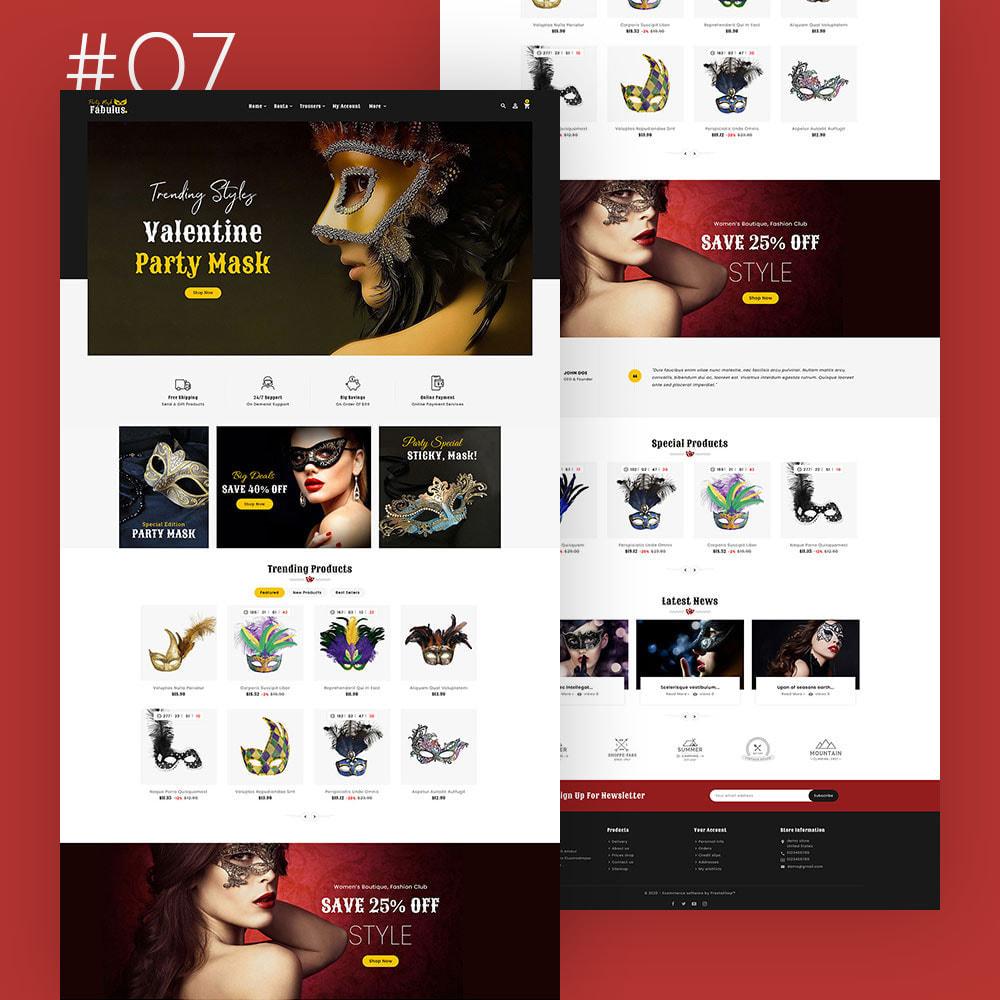 theme - Fashion & Shoes - Fabulus - Multi-purpose Online Store - 8