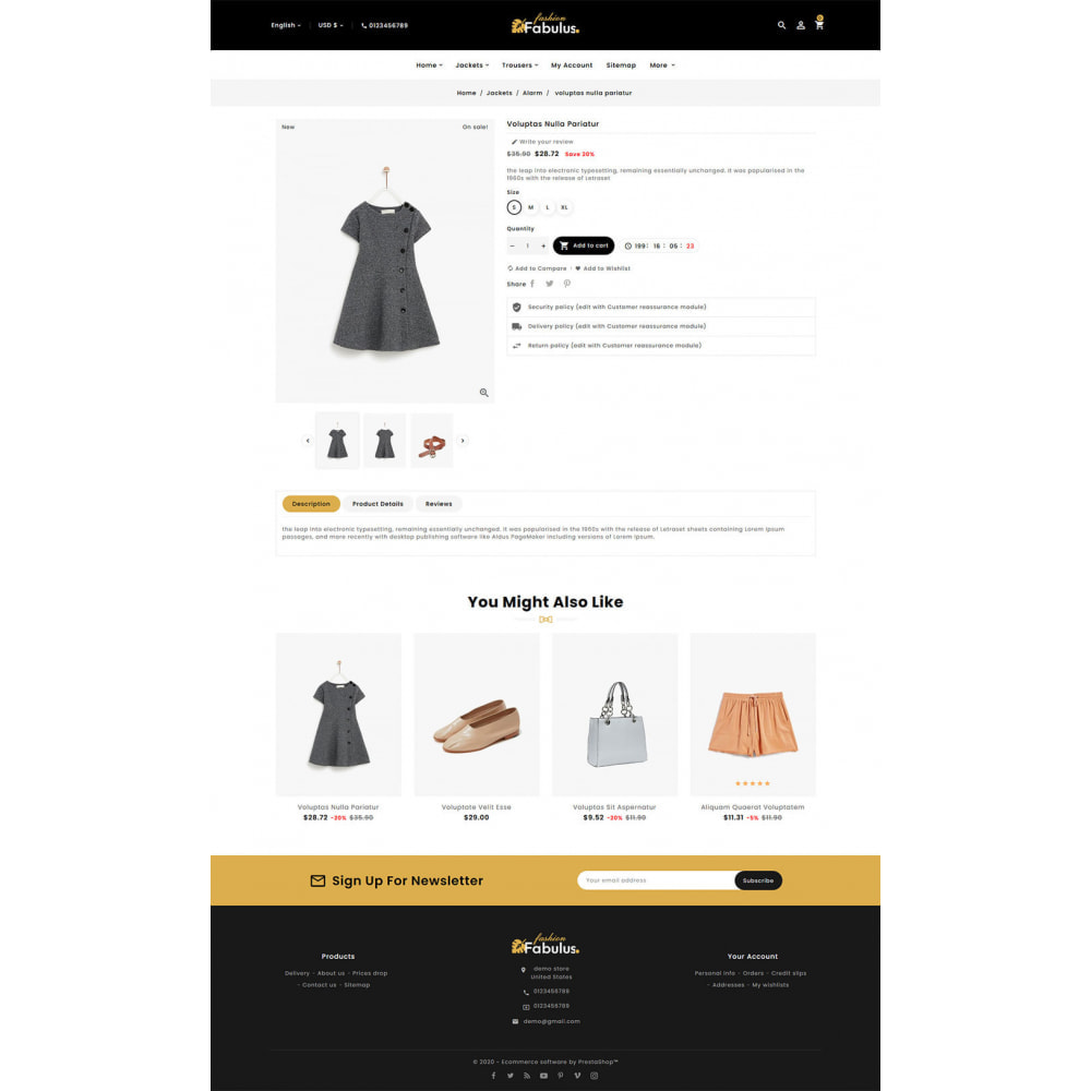 theme - Fashion & Shoes - Fabulus - Multi-purpose Online Store - 17