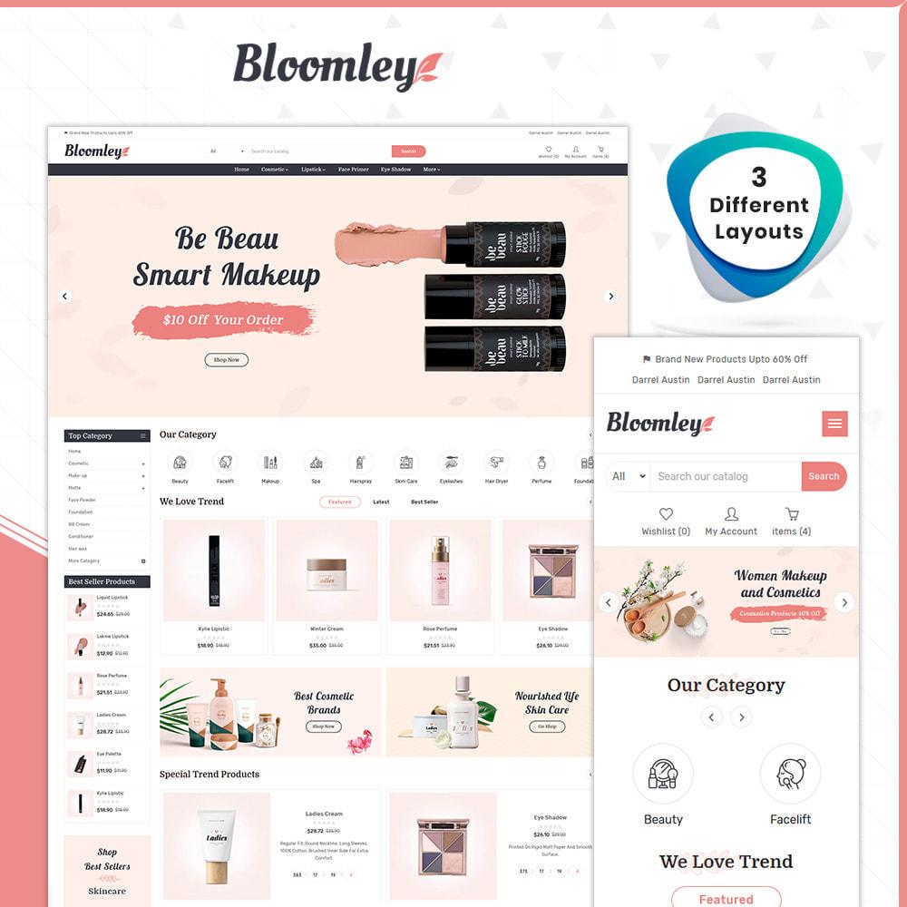 theme - Gesundheit & Schönheit - Cosmatic Bloomley-Cosmatic Shop - 1