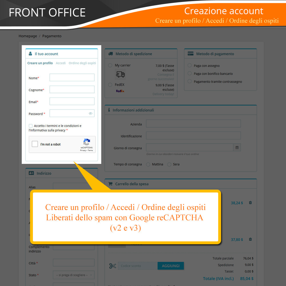 module - Express Checkout - ONE PAGE CHECKOUT - Veloce, Intuitivo & Professionale - 5