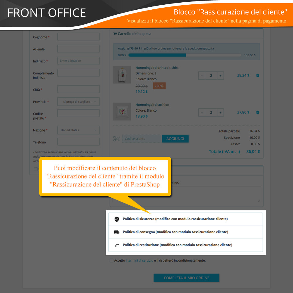 module - Express Checkout - ONE PAGE CHECKOUT - Veloce, Intuitivo & Professionale - 11